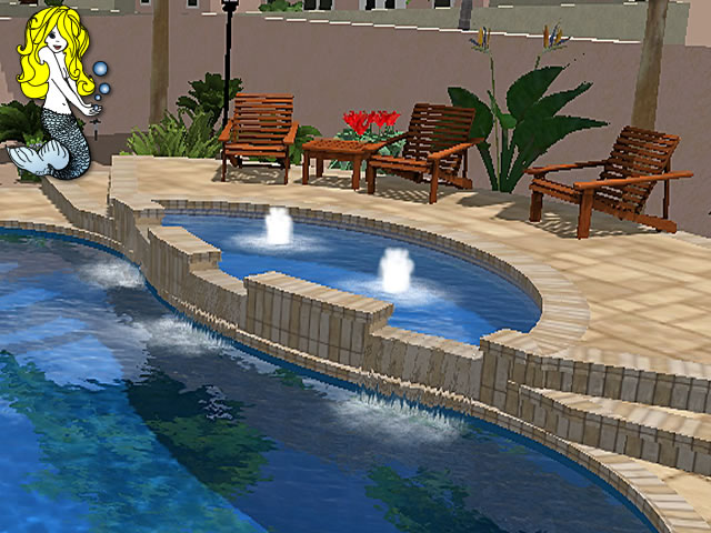 Fiberglass Tanning Ledges Tallman Pools