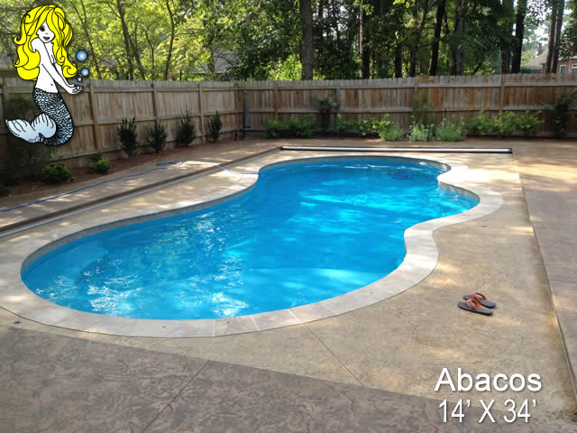 Abacos Custom Fiberglass Swimming Pools Tallman Pools