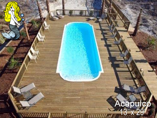 Acapulco Grecian Fiberglass Swimming Pools Tallman Pools