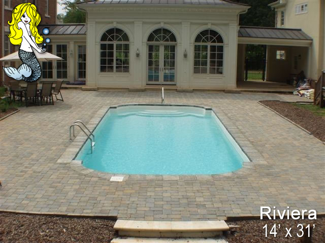 Rivera Pool riviera fiberglass swimming pools tallman pools