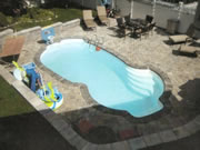 Cancun Fiberglass Pool
