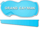 Grand Cayman Fiberglass Pool